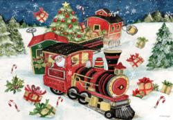 All Aboard Christmas Jigsaw Puzzle