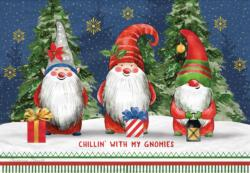 Gnome Christmas Jigsaw Puzzle