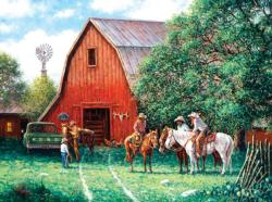 A New Day Horses Jigsaw Puzzle