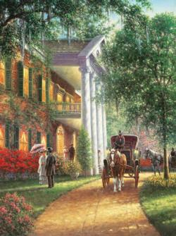 Southern Charm Outdoors Jigsaw Puzzle