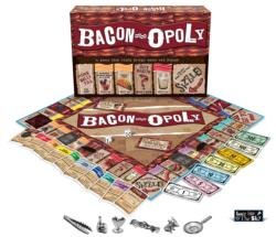 Bacon-Opoly Food and Drink