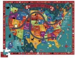 Discover America United States Floor Puzzle