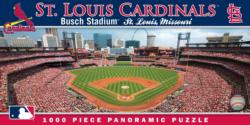 St. Louis Cardinals St. Louis Cardinals Panoramic Puzzle