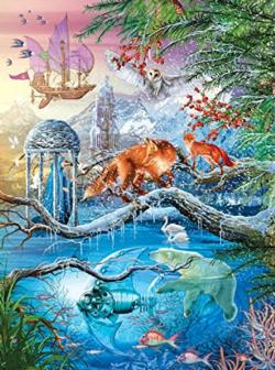 Shangri-La Winter (Holographic) Fantasy Jigsaw Puzzle
