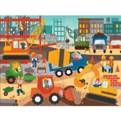 Construction Site Construction Children's Puzzles
