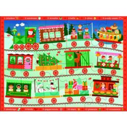 Christmas Train Christmas Children's Puzzles