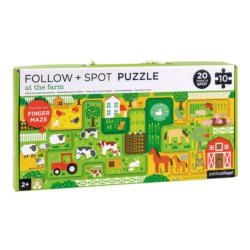 At the Farm Farm Children's Puzzles