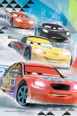 Cars (Mini, #7) Movies / Books / TV Miniature Puzzle
