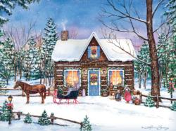 Magical Evening General Store Jigsaw Puzzle