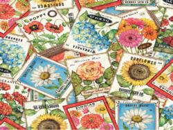 Seed Packets Plants Jigsaw Puzzle