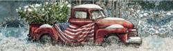 Flag Truck Vehicles Panoramic Puzzle