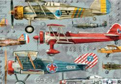 Planes Graphics / Illustration Jigsaw Puzzle