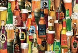 Crafted Brews Collage Jigsaw Puzzle