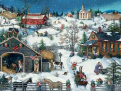 Christmas Memories Snow Jigsaw Puzzle