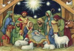 Nativity Christmas Jigsaw Puzzle