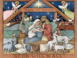 Good Will To All Christmas Jigsaw Puzzle