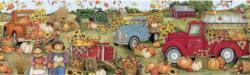 Harvest Truck Vehicles Panoramic Puzzle