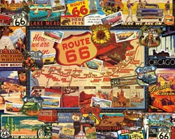 Route 66 United States Jigsaw Puzzle