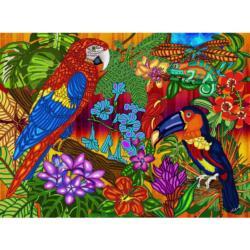 Tropics Flowers Jigsaw Puzzle