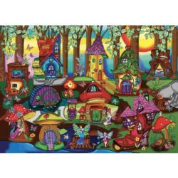 The Enchanted Forest Fairies Jigsaw Puzzle