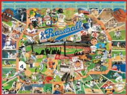 Baseball Greats Sports Jigsaw Puzzle