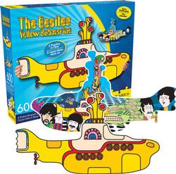 Two Sided Puzzle - Yellow Submarine Music Double Sided