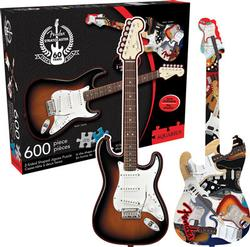 Two Sided Puzzle - Fender Stratocaster Music Double Sided Puzzle