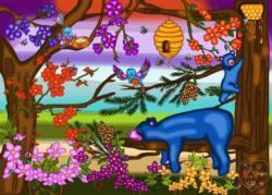 The Bear Necessities Bears Jigsaw Puzzle