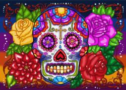 Las Calavares Day of the Dead Jigsaw Puzzle