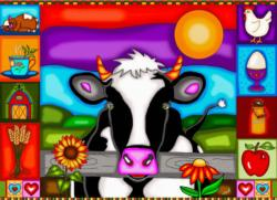Sunset Hill Farm Farm Animals Jigsaw Puzzle