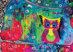 Le Gardien De La Nuit Owl Large Piece