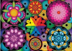 Colour Frenzy Pattern / Assortment Jigsaw Puzzle