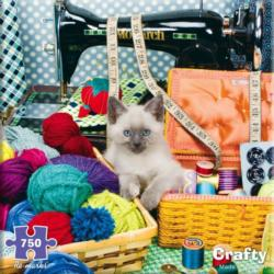 Crafty  Quilting & Crafts Jigsaw Puzzle