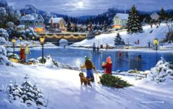 Joyful Season Lakes / Rivers / Streams Jigsaw Puzzle
