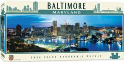 Baltimore United States Panoramic Puzzle