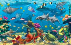 Ocean Adventure - Scratch and Dent Fish Jigsaw Puzzle