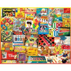 Games We Played Collage Jigsaw Puzzle