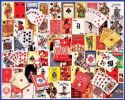 Playing Cards Collage Everyday Objects Jigsaw Puzzle