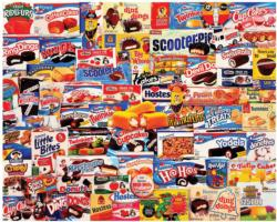 Tasty Treats Food and Drink Jigsaw Puzzle
