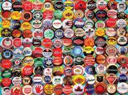 Beer Bottle Caps Everyday Objects Jigsaw Puzzle