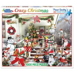 Crazy Christmas Christmas Jigsaw Puzzle