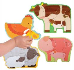 Farm Babies Farm Animals Children's Puzzles
