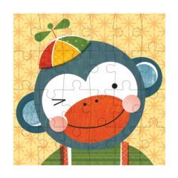 Monkey Animals Children's Puzzles