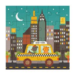 New York City Taxi New York Children's Puzzles