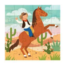 Cowboy Horses Children's Puzzles