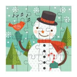 Snowman Snowman Children's Puzzles