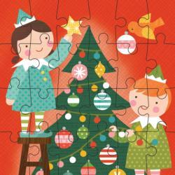 Elves Christmas Children's Puzzles