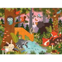 Enchanted Woodland Animals Children's Puzzles