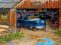 The Collector's Garage - Scratch and Dent Nostalgic / Retro Jigsaw Puzzle
