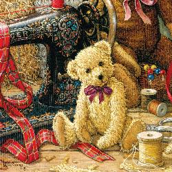 Brand New Bear Quilting & Crafts Jigsaw Puzzle
